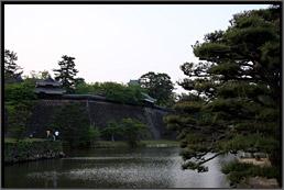 松江城の水堀