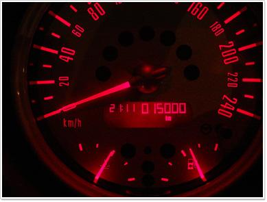 MINI 15,000km