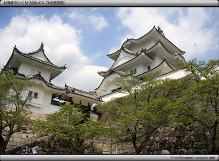 伊賀上野城の天守