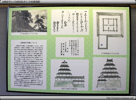想定上の伊賀上野城天守