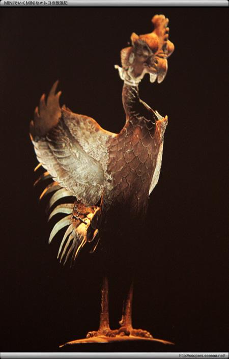 絵ハガキの「鳳凰像」