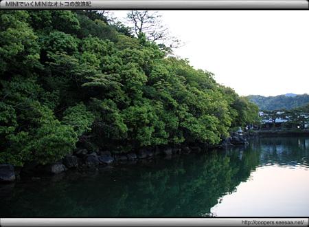 山口県萩市の明神池