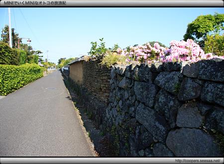堀内地区の土塀