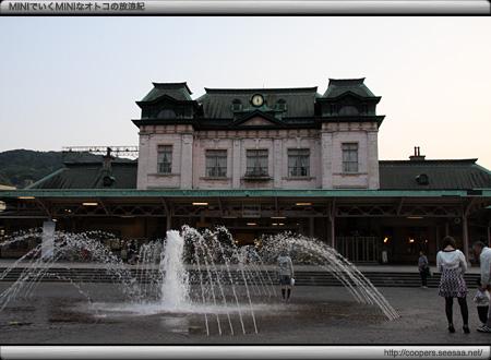 門司港駅前の噴水