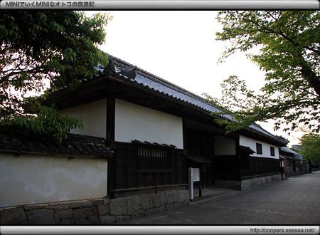 香川家長屋門