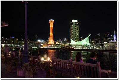 モザイクから見る神戸ポートタワー
