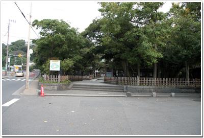 高徳院の入口