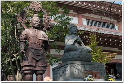 長谷寺〜石造釈迦如来坐像并四天王像