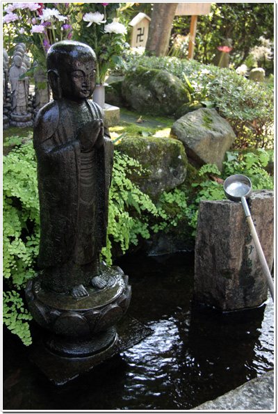 長谷寺〜水掛け地蔵