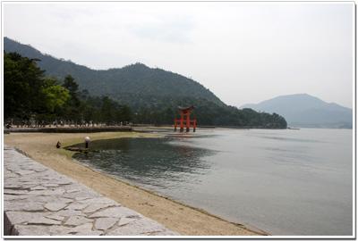 厳島神社の大鳥居〜その1