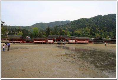 海から見た『厳島神社』