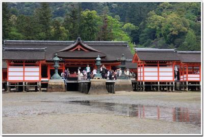 海から見た『厳島神社』part2