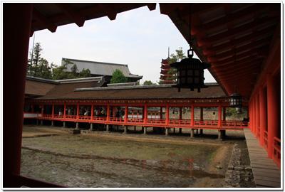 厳島神社の風景