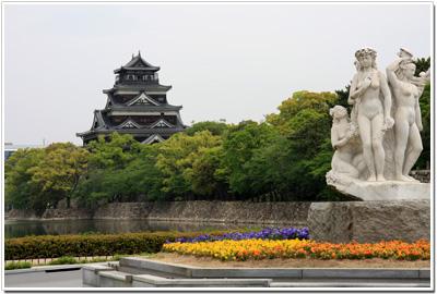 広島城の全貌