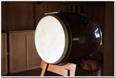 太鼓櫓の太鼓