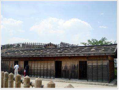 荒砥城・二の郭の兵舎