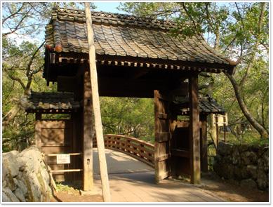 高遠城の問屋門
