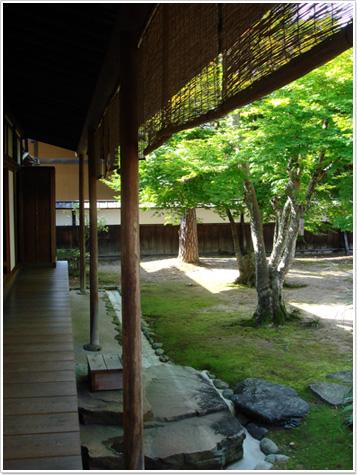 高山陣屋〜庭園