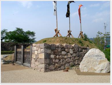 松代城の入口