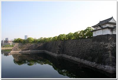 西外堀と千貫櫓
