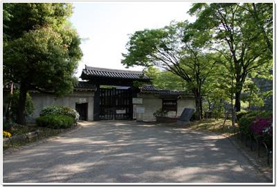 大阪城〜西の丸庭園入口