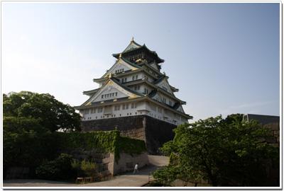大阪城〜天守閣