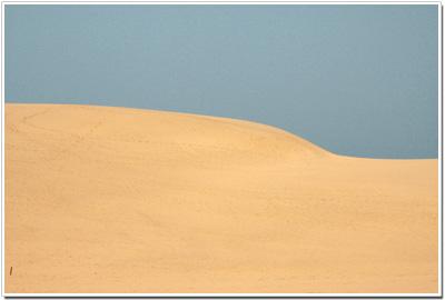 鳥取砂丘は砂漠?
