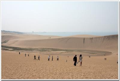 鳥取砂丘は観光地!