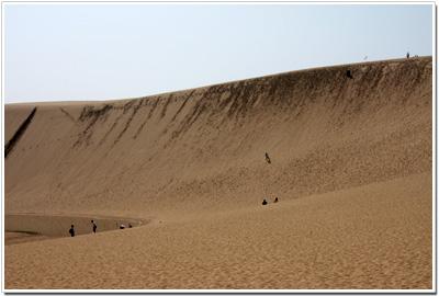 鳥取砂丘って丘というより山?