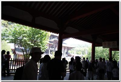 東大寺〜入堂