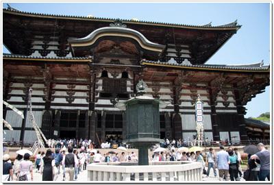 東大寺〜金銅八角燈籠