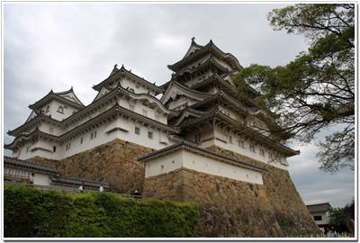備前丸から見た姫路城