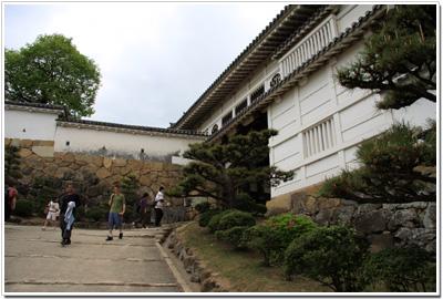 姫路城〜菱の門