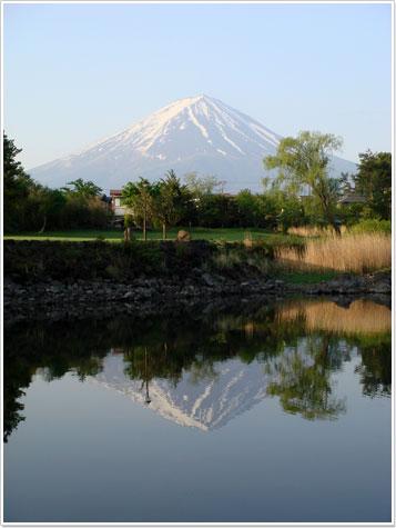 富士山in河口湖001