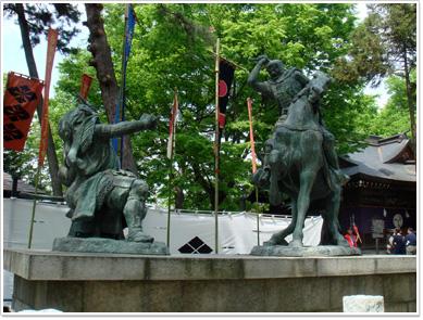 武田信玄と上杉謙信の一騎打ち2