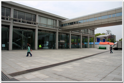 平和記念資料館の入口