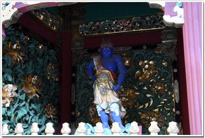 夜叉門の青い夜叉