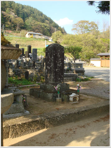 由布姫の墓所