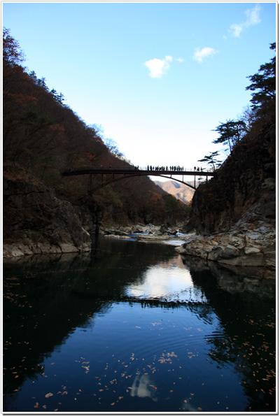 竜王峡〜虹見の橋