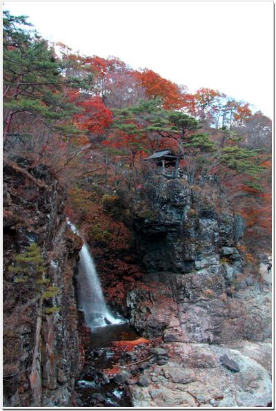 竜王峡〜虹見の滝
