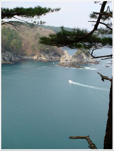 蛸の浜(剛台展望台)