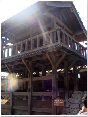 風林火山館(二階櫓)