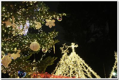 クリスマスツリーin東京タワー