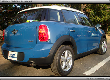 BMW MINI CROSSOVER試乗