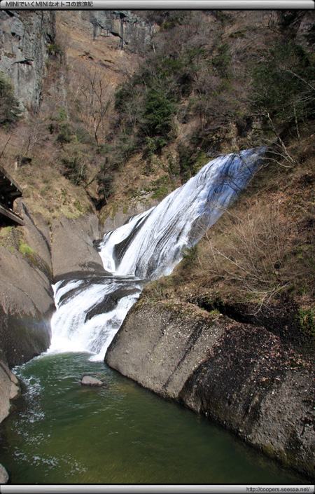 袋田の滝〜吊り橋から