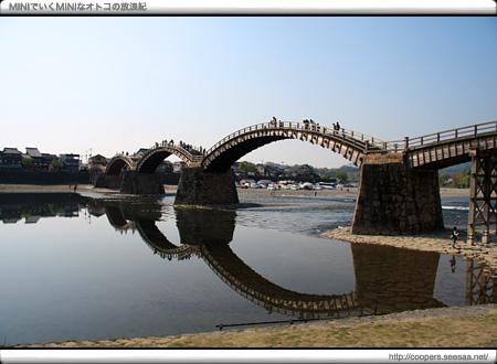 日本三奇橋「錦帯橋」