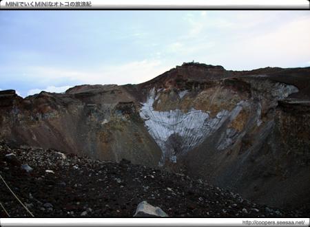 富士山火口「大内院」