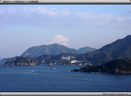 堂ヶ島と富士